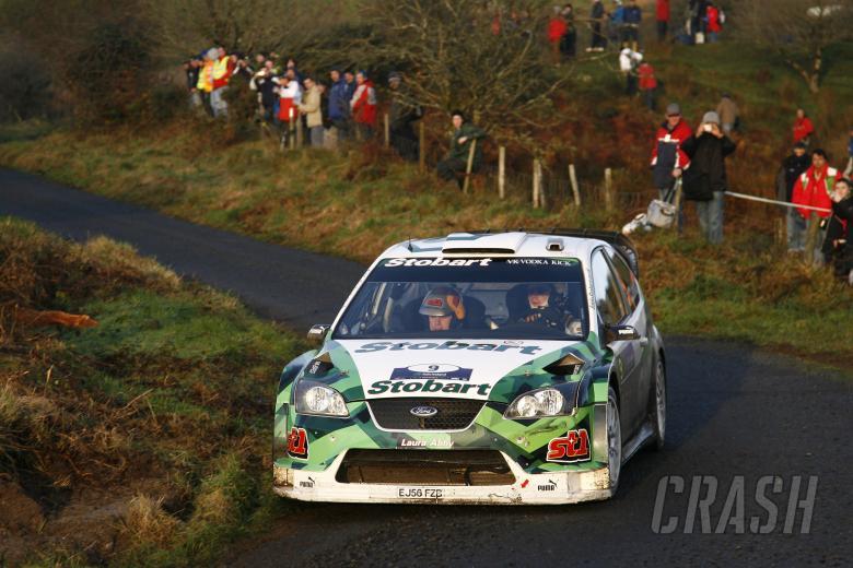 Jari-Matti Latvala (FIN) / Miikka Anttila (FIN), Stobart Ford Focus WRC 06. Rally Ireland. 15-18th N