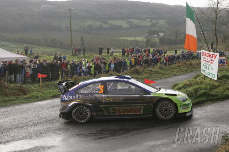Marcus Gronholm (FIN) / Timo Rautiainen (FIN), BP Ford Focus RS WRC 06. Rally Ireland. 15-18th Novem