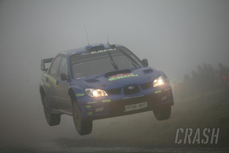 Chris Atkinson (AUS) / Stephane Prevot (BEL), Subaru WRT Impreza WRC 2007.
