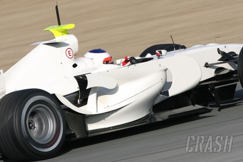 Rubens Barrichello (BRA) Honda RA107, Jerez F1 Test, 4-7th, December, 2007