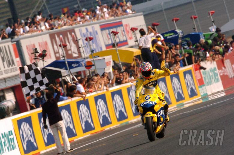 Tamada wins, Japanese MotoGP Race 2004