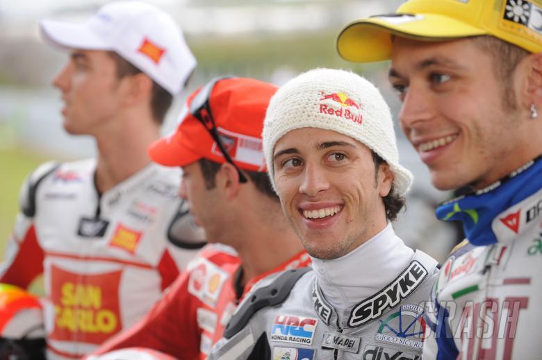 Andrea Dovizioso, Jerez MotoGP tests, February 2008