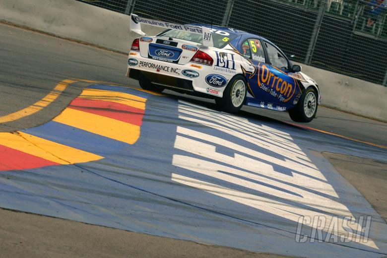 Mark Winterbottom (aust) Orrcon Ford V8 Supercars Rd 1 Clipsal 500 Adelaide AUST