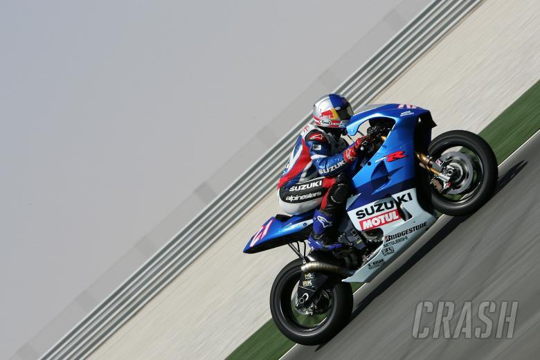 Hopkins, Qatar MotoGP 2004