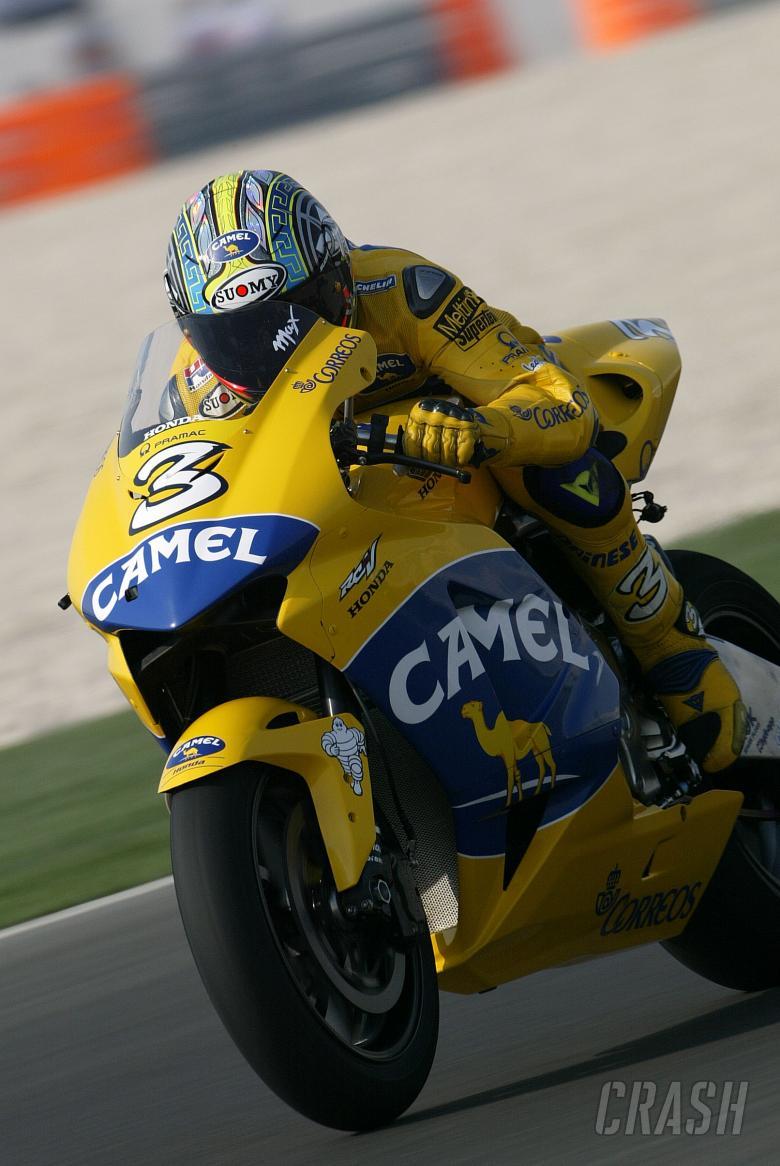 Biaggi, Qatar MotoGP 2004