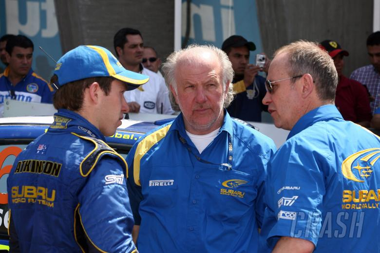 Chris Atkinson (AUS), David Richards (GBR), David Lapworth (GBR), Subaru World Rally Team