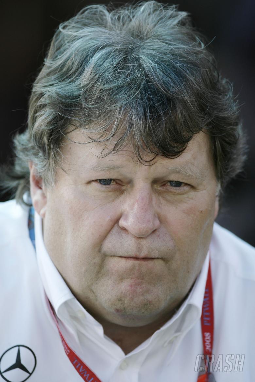 Norbert Haug (GER), Mercedes Sporting Director, Australian F1 Grand Prix, Albert Park, Melbourne, 14