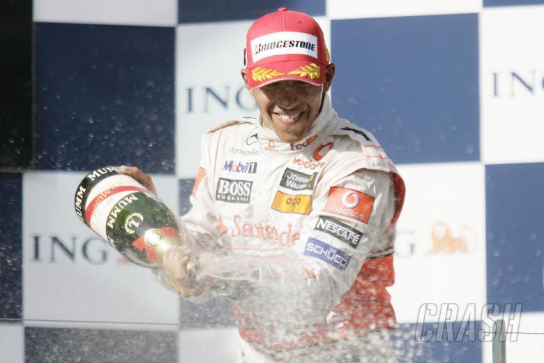 Lewis Hamilton (GBR) McLaren MP4-23 1st, Australian F1 Grand Prix, Albert Park, Melbourne, 14-16th,
