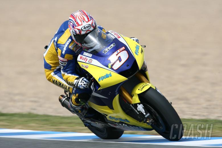 Edwards, Spanish MotoGP 2008