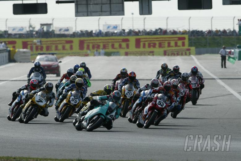 Start, Magny Cours Race 2 WSBK, 2004
