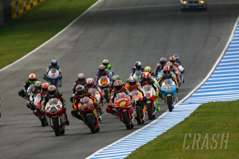 Start, Spanish 250GP 2008