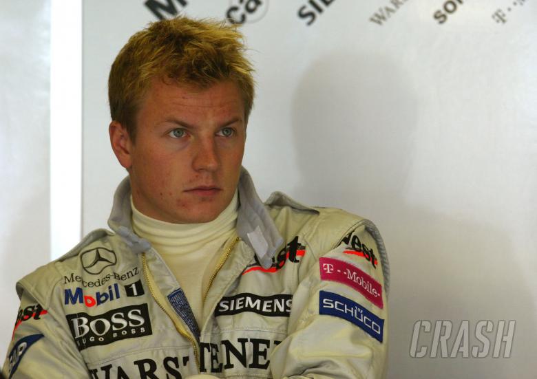 Kimi Raikkonen - West McLaren Mercedes