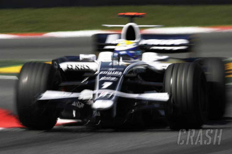 Nico Rosberg (GER) Williams FW30, Spanish F1 Grand Prix, Catalunya, 25th-27th, April, 2008
