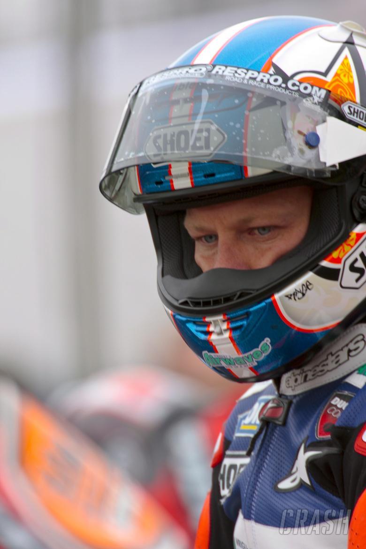 Race 1 winner.  67. Shane Byrne Airwaves Ducati