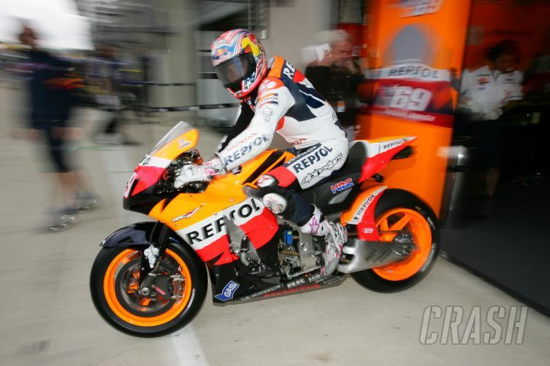 Hayden, French MotoGP 2008