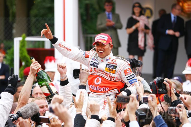 Lewis Hamilton (GBR) McLaren MP4-23, Monaco F1 Grand Prix, 22nd-25th, May 2008