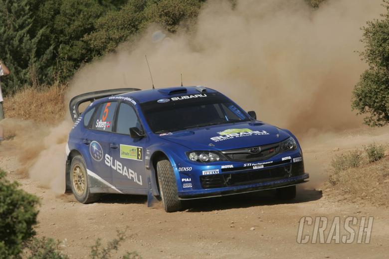 Petter Solberg (NOR) Philip Mills (GBR), Subaru Impreza WRC 2008, Subaru World Rally Team