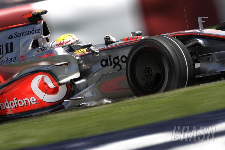 Lewis Hamilton (GBR) McLaren MP4-23, Canadian F1 Grand Prix, Montreal, 6th-8th, June, 2008