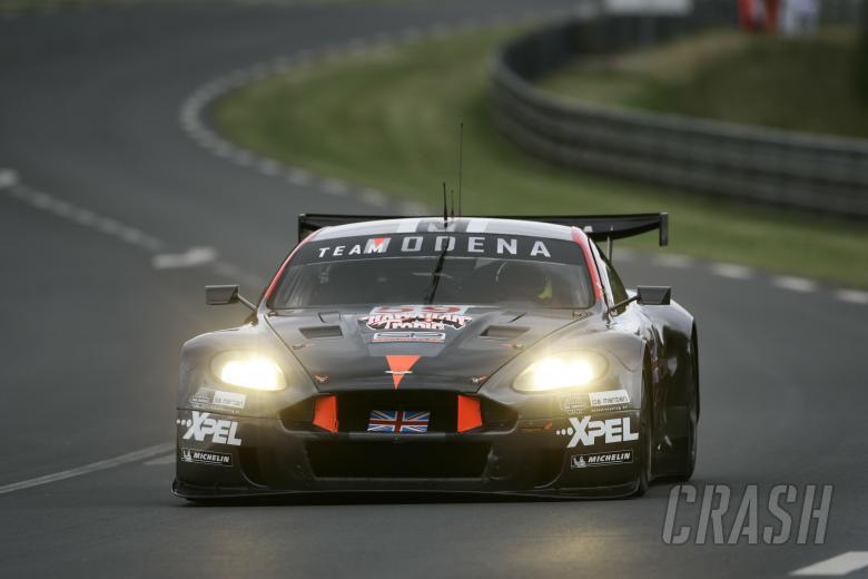 Menten, Fittipladi, Borcheller - Team Modena Aston Martin DBR9