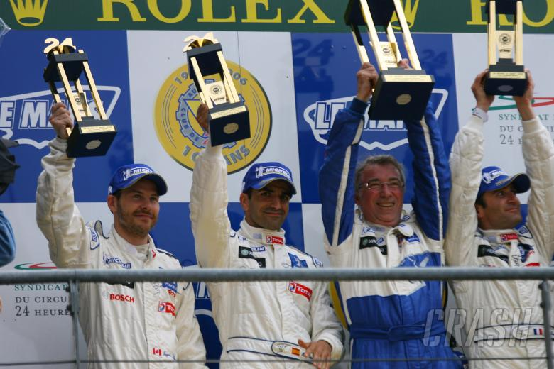 Villeneuve, Gene, Minassian - Peugeot 908 HDi-FAP