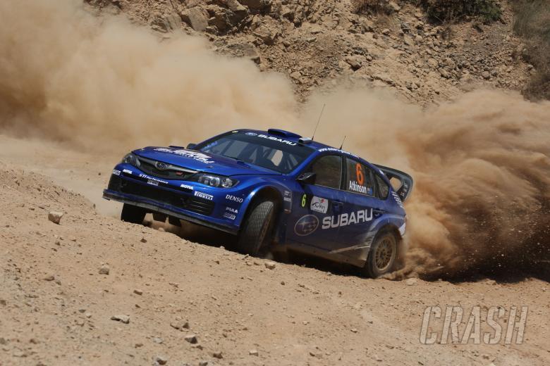 Chris Atkinson (AUS) Stephane Prevot (BEL) Subaru Impreza WRC 2008, Subaru World Rally Team