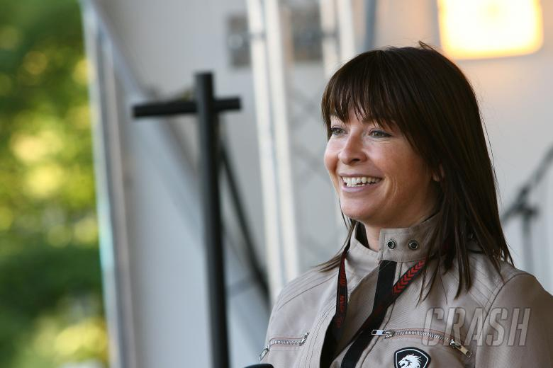 Suzy Perry, British MotoGP 2008