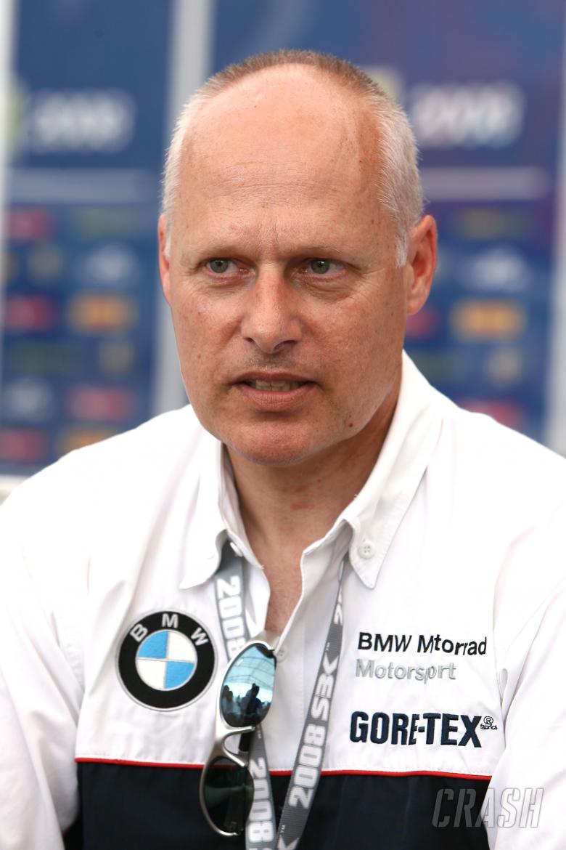 , , Peter Mueller, Vice Pesident BMW Devolpment model lines Misano WSBK 2008