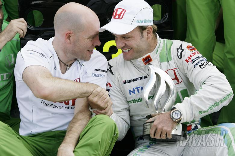 Jock Clear (GBR), Honda F1 Racing, Rubens Barrichello`s Race Engineer, Rubens Barrichello (BRA) Hond