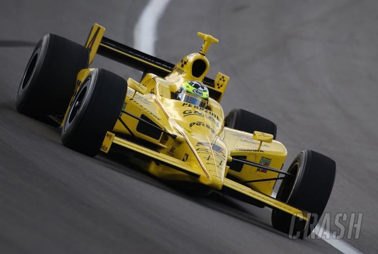 IRL IndyCar Series   Jan. 19-22, 2005 Open Test   Homestead-Miami Speeday tomas scheckter