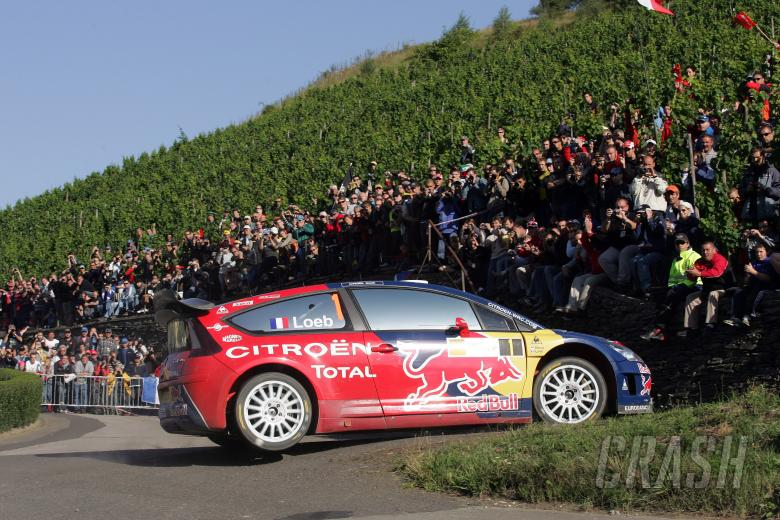 Sebatien Loeb(FRA) Daniel Elena(MC) Citroen C4, Citroen Total WRT