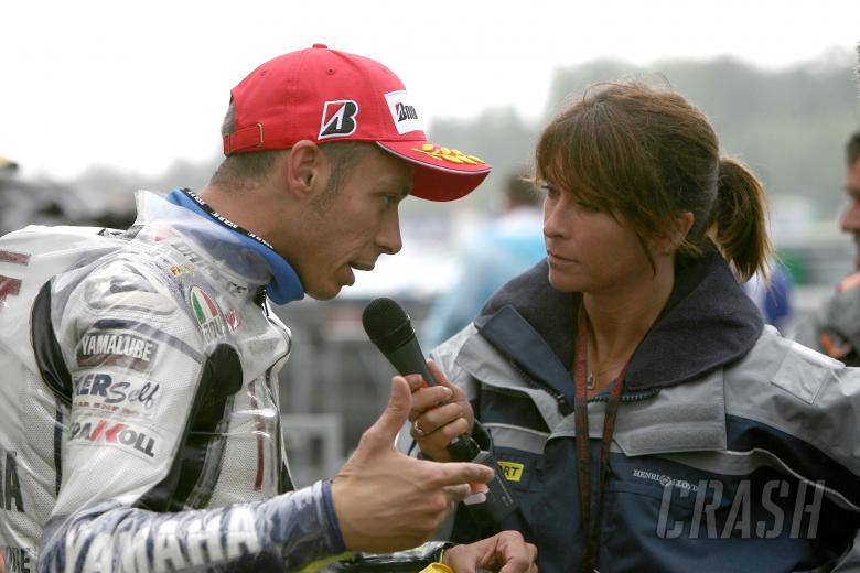 Rossi, Suzy Perry, Czech MotoGP 2008