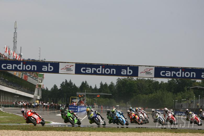 Race Start, Czech MotoGP Race 2008