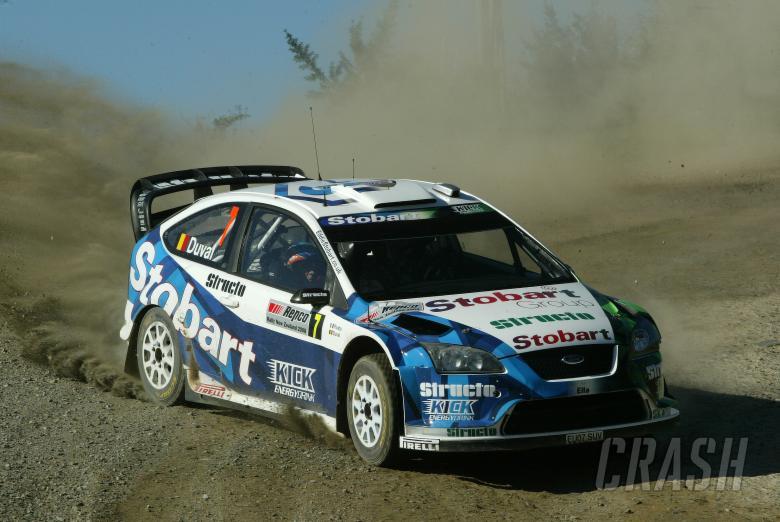 Francois Duval (B) Patrick Pivato (B) Ford Focus RS WRC 07