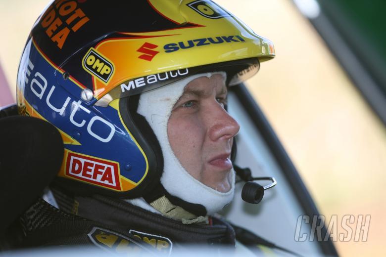 Toni Gardemeister (FIN) Suzuki SX4 WRC