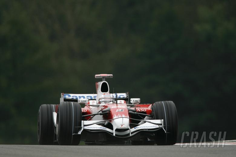 Jarno Trulli (ITA) Toyota TF108, Belgian F1 Grand Prix, Spa Francorchamps, 5-7th, September, 2008