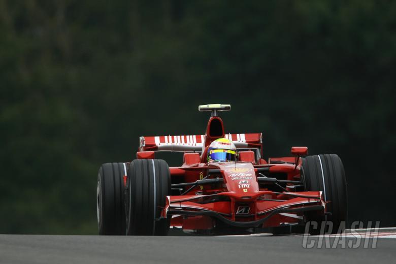 Felipe Massa (BRA) Ferrari F2008, Belgian F1 Grand Prix, Spa Francorchamps, 5-7th, September, 2008