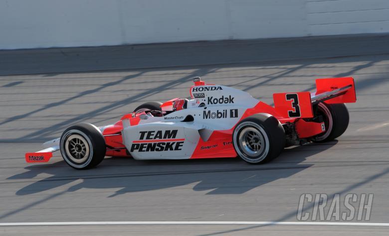 Indy Racing League. 6-7 September 2008. Chicagoland Speedway. Joliet, Il. Race winner, Helio Castr