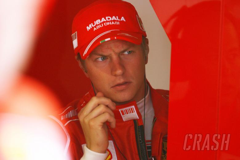 Kimi Raikkonen (FIN) Ferrari F2008, Italian F1 Grand Prix, Monza, 12th-14th, September, 2008