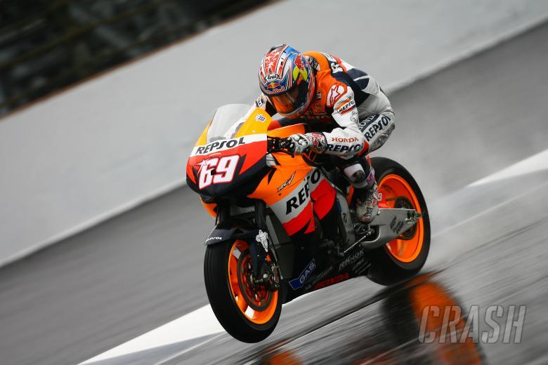 Hayden, Indianapolis MotoGP 2008
