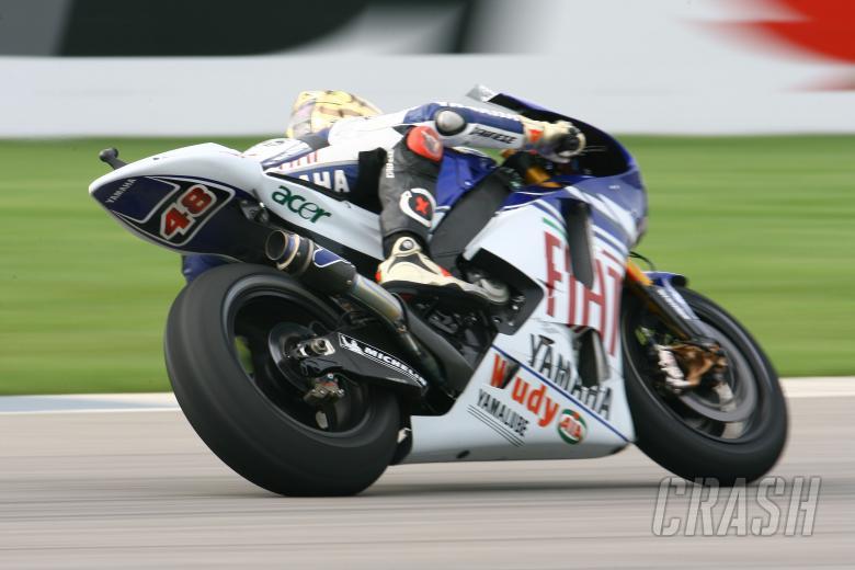 Lorenzo, Indianapolis MotoGP 2008