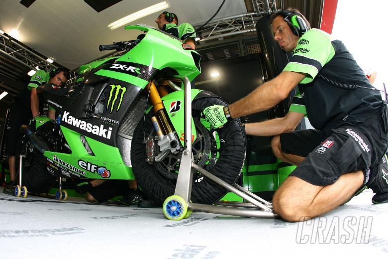 Kawasaki mechanics, Japanese MotoGP 2008
