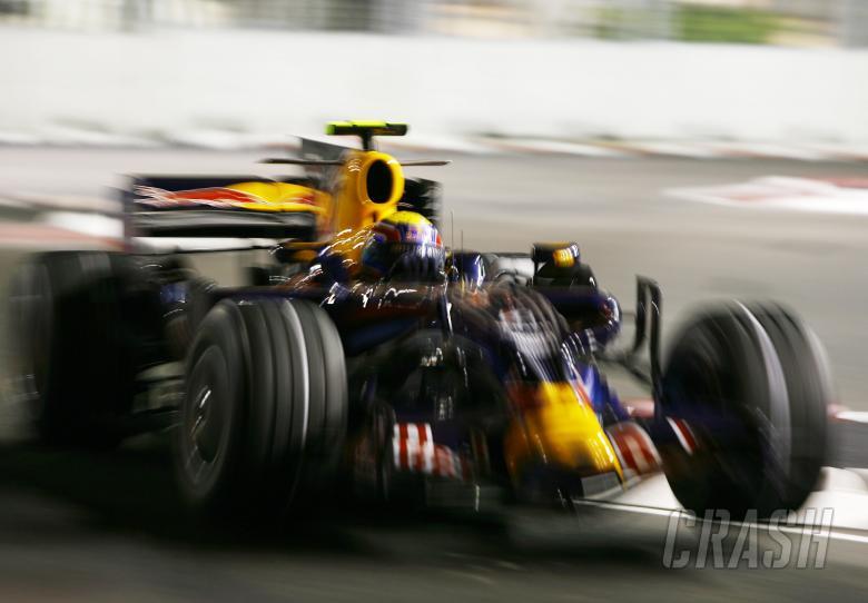 Mark Webber (AUS) Red Bull RB4, Singapore F1 Grand Prix, 26th-28th, September 2008