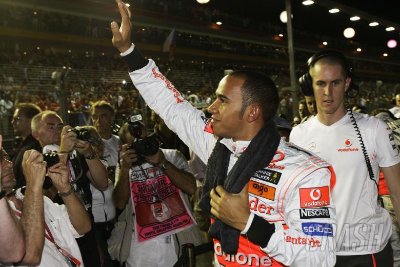 Lewis Hamilton (GBR) McLaren MP4-23, Singapore F1 Grand Prix, 26th-28th, September 2008