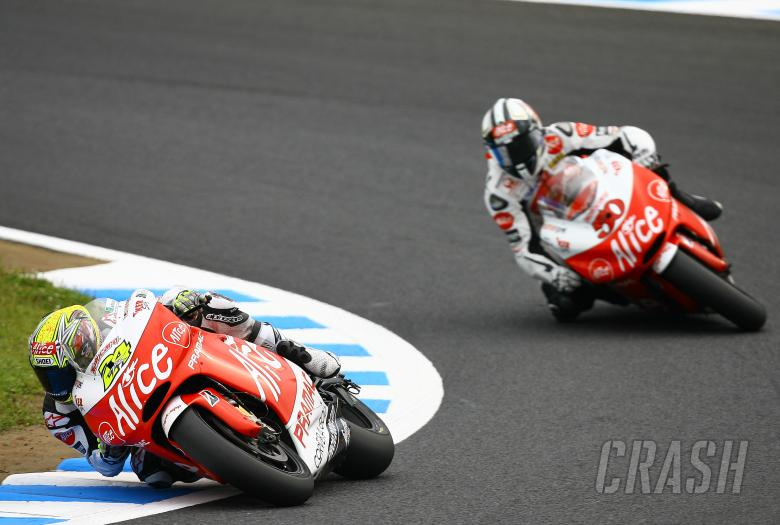 Elias, Guintoli, Japanese MotoGP 2008