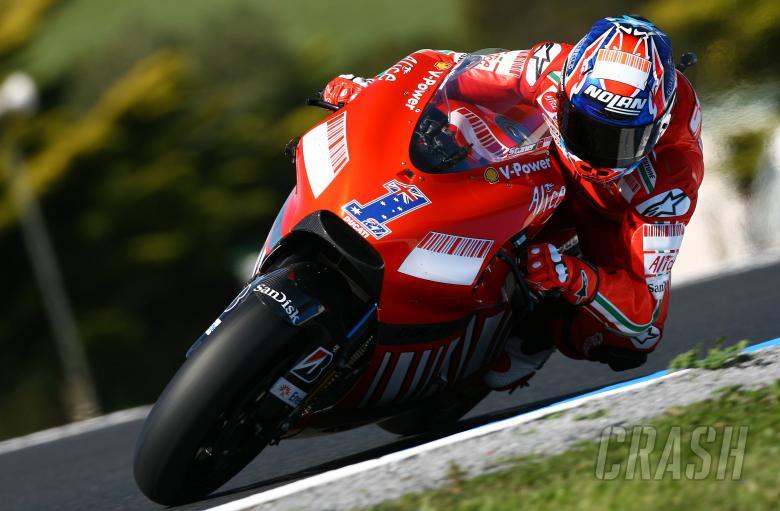 Stoner, Australian MotoGP 2008