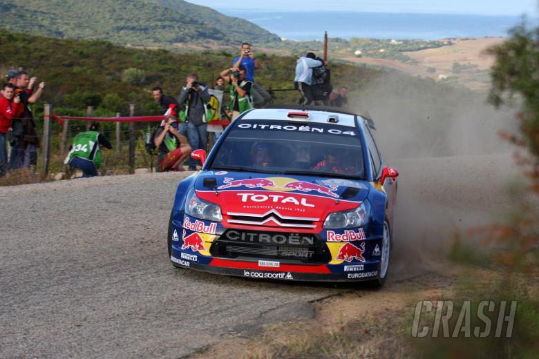 Dani Sordo (ESP) Marc Marti (ESP), Citroen C4 Citroen Total World Rally Team