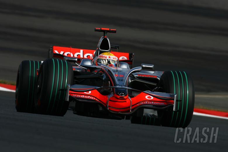 Lewis Hamilton (GBR) McLaren MP4-23, Japanese F1, Fuji, 10th-12th, October, 2008