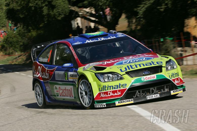 Mikko Hirvonen (FIN) Jarmo Lehtinen(FIN), Ford Focus RS WRC07, BP Ford Abu Dhabi World Rally Team