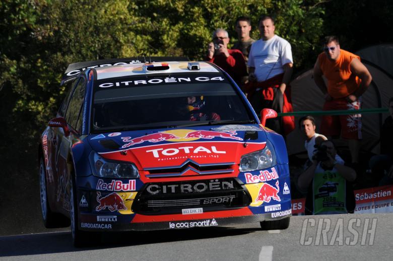 Sebastien Loeb (FRA) Daniel Elena (MON), Citroen C4, Citroen Total World Rally Team