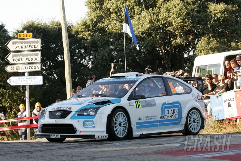 Barry Clark (GB) Paul Nagle (GB), Ford Focus RS WRC07, Stobart WK M-Sport Ford Rally Team